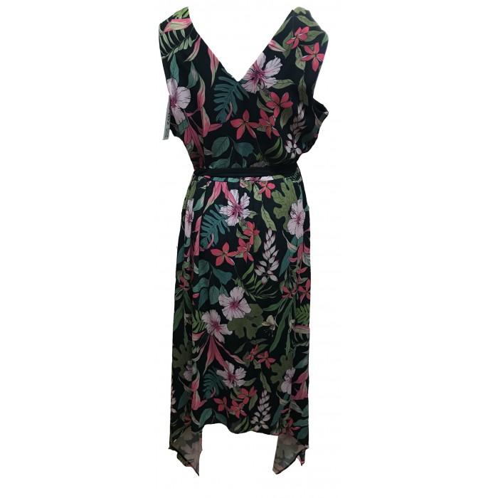 Women's Ladies Maxi Floral Dress