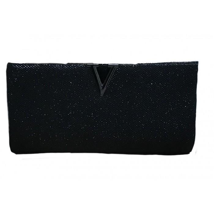 Black occasion Evening & Clutch Bag Wedding bag for Womens