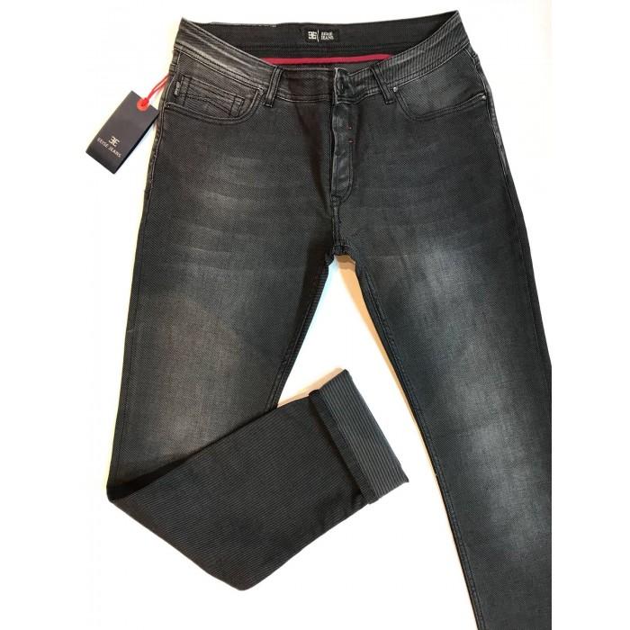 Men's Jeans EEISE  Jeans EJ15 slim fit Black