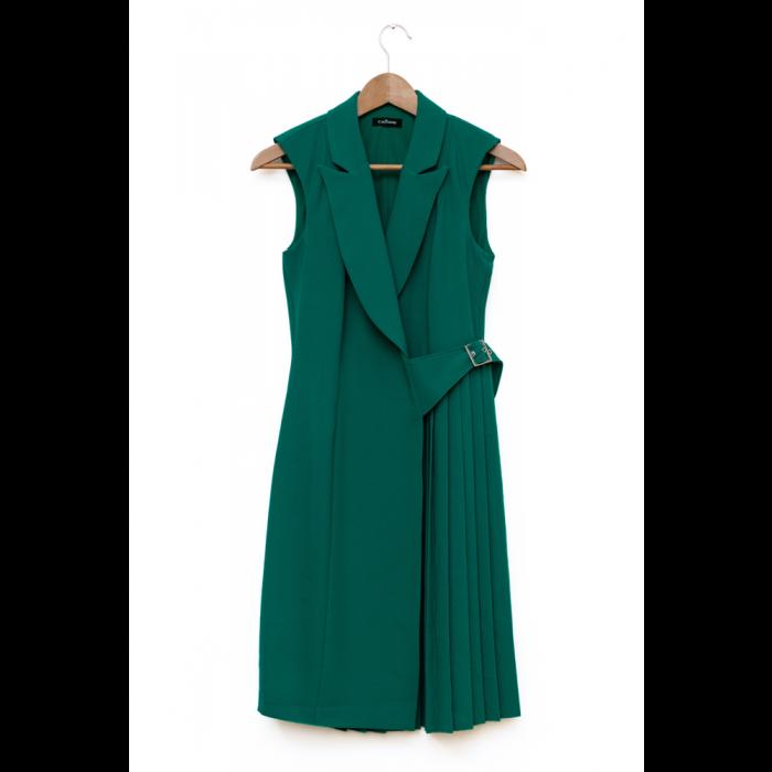 Womens pleated midi Dress