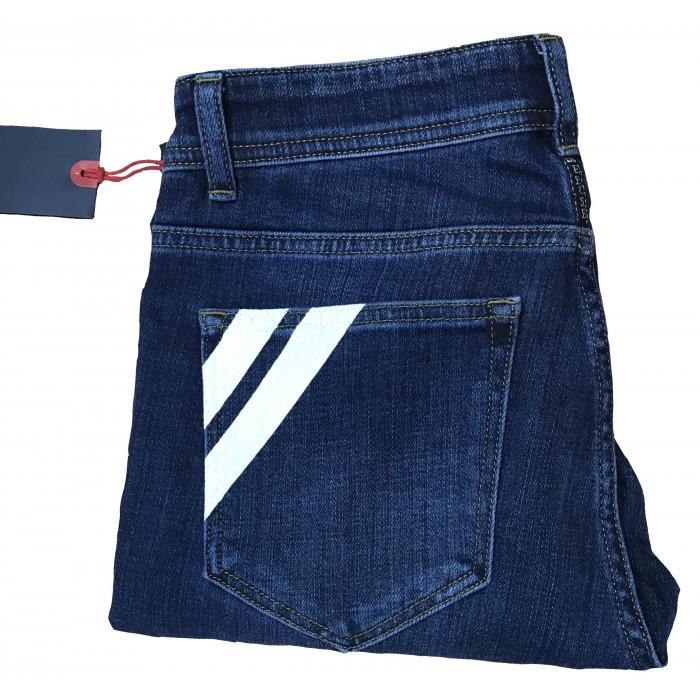 Men's New Designer Stretch slim fit Jeans denim pants blue EEISE all waist sizes