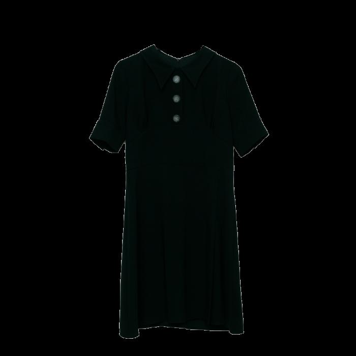 Women's Black midi Dress