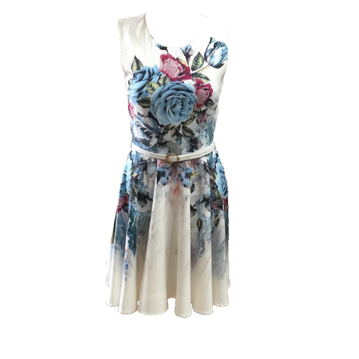 Women's  Ladies Skater Dress Mini Dress